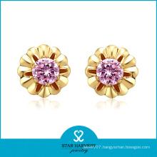 Wholesale 2013 Diamond Gold Jewellery Earring