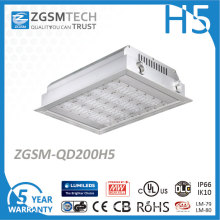 200W Zgsm LED Canopy Light Fixture Price with Lumileds 3030