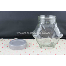 1600ml 53oz Bulk Big Volume Storage Candy Glass Jar