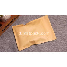 Paper Side Seal bag Tas zip lock dengan kunci datar
