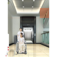 Bed Elevator Hospital with Mirror Etched Stainless Steel