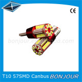 T10 W5W LED 57smd 3014 Chips Canbus Constant Current Universial Polarity