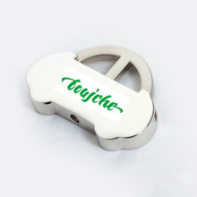 Function Pull out Zinc Alloy Car Shape Metal Keyring (F1290)