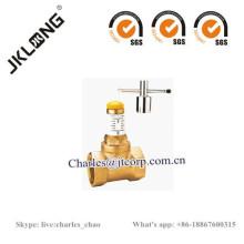 Válvula ajustable con cerradura de latón