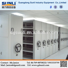 Dongguan Rack Supplier New Design Metal Mobile Library System