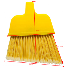 Factory low price household cleaning plastic broom