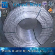 Fil fourré de silicium de calcium avec le prix concurrentiel / CaSi Chine