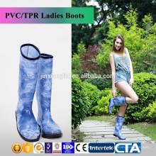 Новый стиль моды дамы дождь обувь