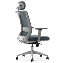 Multifunktionaler Büro-Chefsessel aus Leder mit hoher Rückenlehne