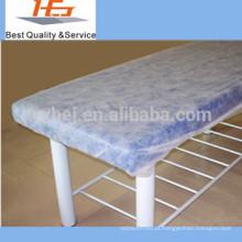 Fabricantes não tecido descartável equipado lençóis de massagem