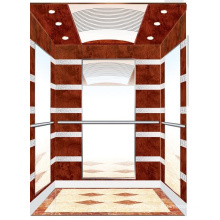 Aksen Wooden Decoration Mrl Passenger Elevator J0341