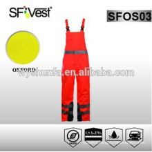 safety orange hi-vis coveralls coveralls with EN ISO 20471 certificate