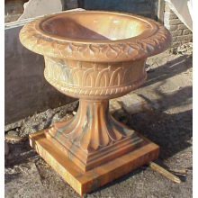 High Quality for Grey Marble Stone Carving Marble Flowerpot supply to Malaysia Supplier