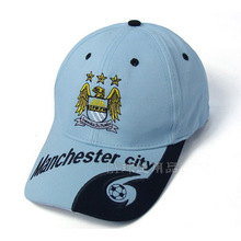 Manchester city cap sports soccer cap cotton embroidery hat