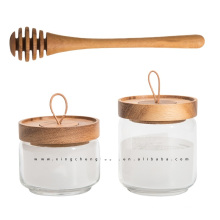 Food Grade Borosilicate Airtight Glass Storage Jar with Lid