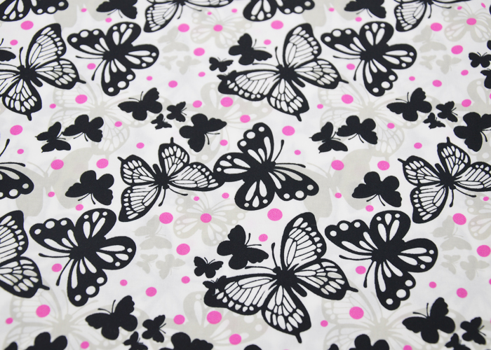 Dacron printed fabric