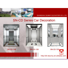 Decoração da cabine do elevador com frame do St. St (SN-CD-128)