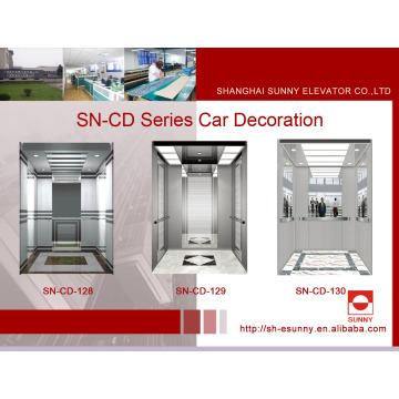 Elevator Cabin Decoration with St. St Frame (SN-CD-128)