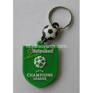 Cute Soft PVC Cartoon Keychain Untuk Desoration