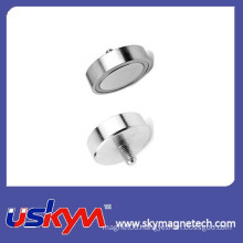 NdFeB (neodymium iron boron) Magnetic Pot Magnet with Best Price