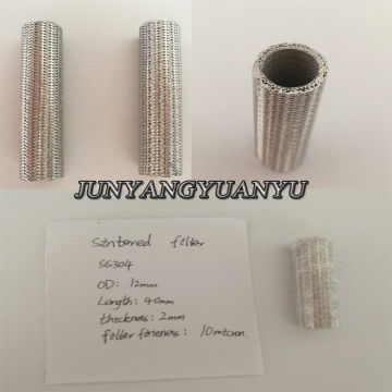 Stainless Steel Metal Sintered Powder Filter