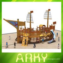 Meilleur terrain de jeux en bois de pirate pour enfants pour enfants