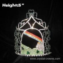 Wholesale Crystal Clover Pageant Crowns