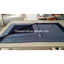 elegante patrón de tejer 100% cachemira manta doble capa cachemira manta