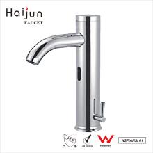 Haijun Products China 0.1~1.6MPa Bathroom Deck Mounted Sensor Faucet