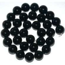 "12MM Black Onyx Round Beads 16"""