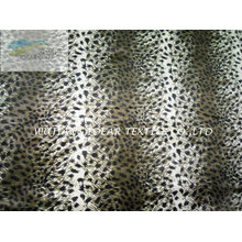 Leopard Printed Pattern Plush Fabric