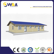 (WAS1507-63D) Casas pre-fabricadas hermosas del marco de acero de las casas