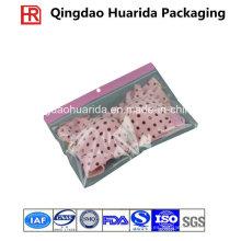Bolso de embalaje transparente perfumado especial de la ropa con la cremallera