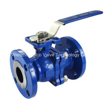 ANSI 150lb Wcb Floating Ball Valve with ISO5211 Mouting Pad