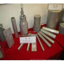 Bar plat en aluminium
