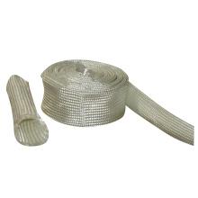 Manche haute qualité en silicone et manchon en fibre de verre à haute teneur en silice