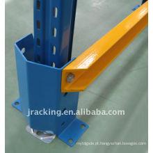 Protetor alto da cremalheira de 400mm com superfície revestida do pó