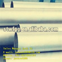 Q195 carbone galvanisé tuyau stell tuyaux d'acier étirés à froid sans soudure