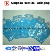 Drei Dichtungs-Plastikmatte Oberflächenmasken-Verpackungs-Beutel-kosmetischer Beutel
