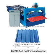 Máquinas de formação de rolos para folhas onduladas