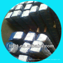 Barres carrées solides d'acier inoxydable de surface d'ASTM A276 dessiné à froid / lumineux, S8mm-S50mm du fournisseur