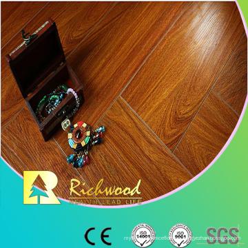 12.3 mm en relieve Hickory encerado con bordes Lamianted Floor