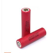 Lghe2 18650 Bateria Bateria recarregável de iões de lítio 3.7V 2500mAh 20A Descarga