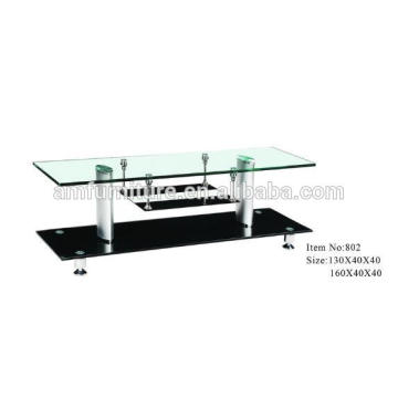 hot-bend glass TV stand with most popular design
