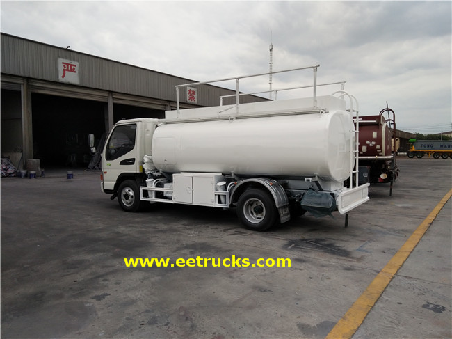 70HP JAC 1300 Gallon Mobile Refuelling Trucks