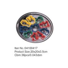20 * 20 см пластиковые маркеры катер раунд Пан набор