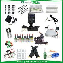 Getbetterlife 2014New alimentation numérique personnalisé Kit Machine tatouage Permanent