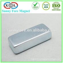 Цинковое покрытие N52 30 x 15 x 5 неодимовый магнит