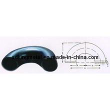 Cotovelo de Curto Raio de Aço Carbono 180