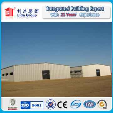 Peb Steel Structure Building/ Pre Engineered Steel Structure Workshop/ Prefabricated Steel Structure Warehouse